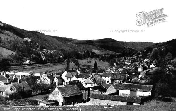 Photo of Brockweir, the Village c1955