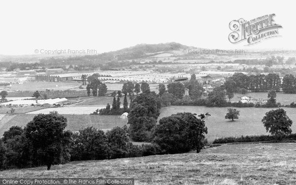 Brockworth, From Castle Hill c.1950
