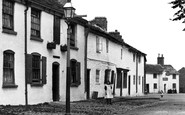 Broken Cross, Cottages In The Village 1898