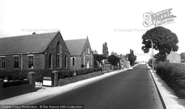 Broken Cross, Knutsford Road And Methodist Church 1966