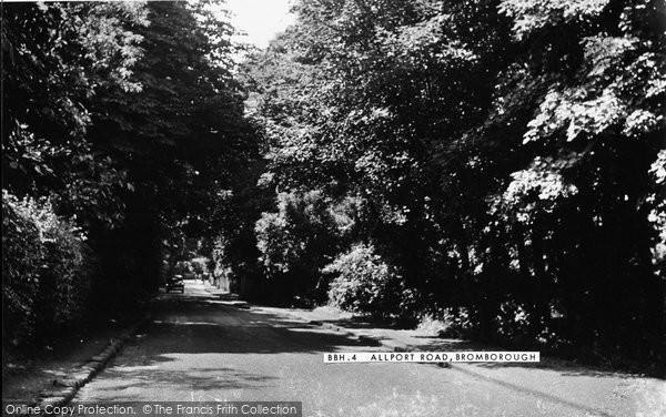 Bromborough, Allport Road c.1955