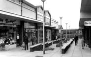 Bromborough, The Shopping Precinct c.1965
