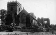 Bromfield, Church Of St Mary The Virgin From The South West 1904
