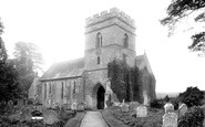 Bromfield, Church Of St Mary The Virign From The North West 1924