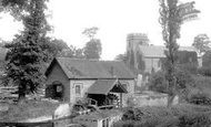 Bromfield, Mill And Church Of St Mary The Virgin 1892