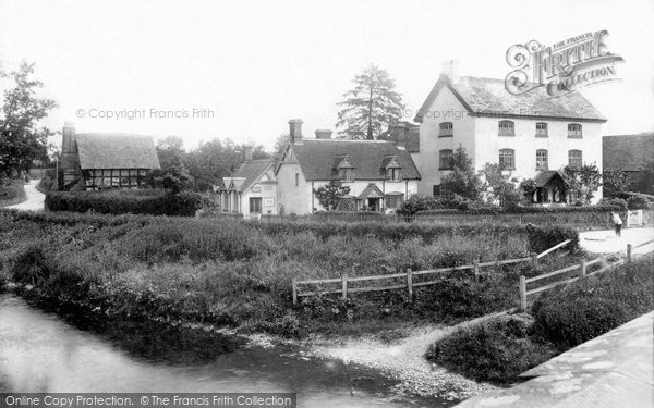 Photo of Bromfield, Post Office and Village 1904