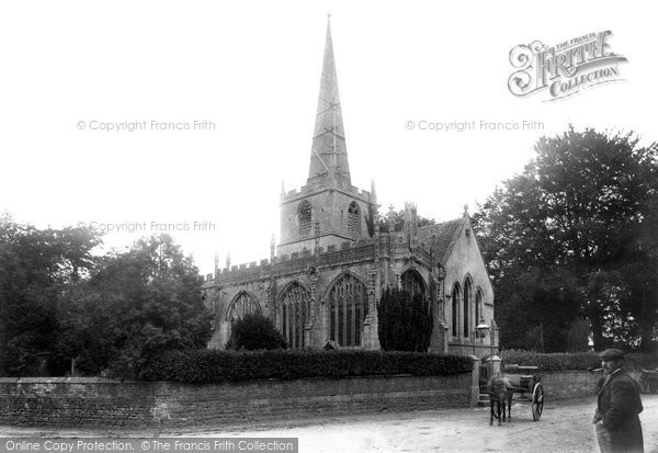 Bromham, St Nicholas Church 1899