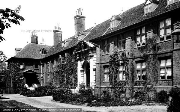 Bromley, College 1899