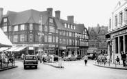Bromley, Market Square c.1965