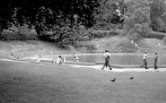 Bromley, The Boating Pool, Church House Gardens 1968