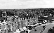 Bromley, The Broadway c.1955