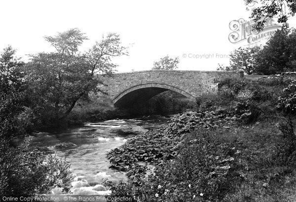 Brompton On Swale, Mill Bridge 1913