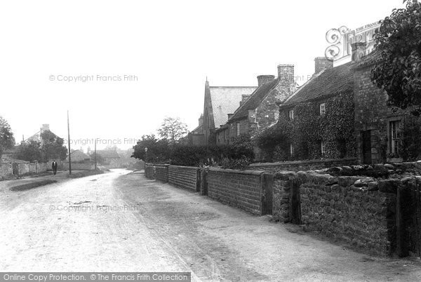 Brompton On Swale, The Village 1913