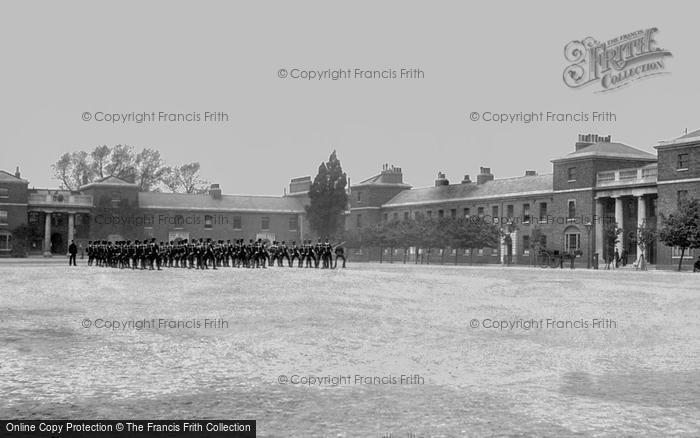 Brompton, R E Barracks 1894