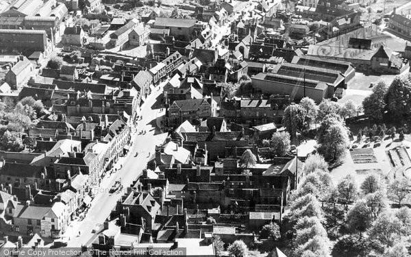 Bromsgrove, Aerial View c.1955