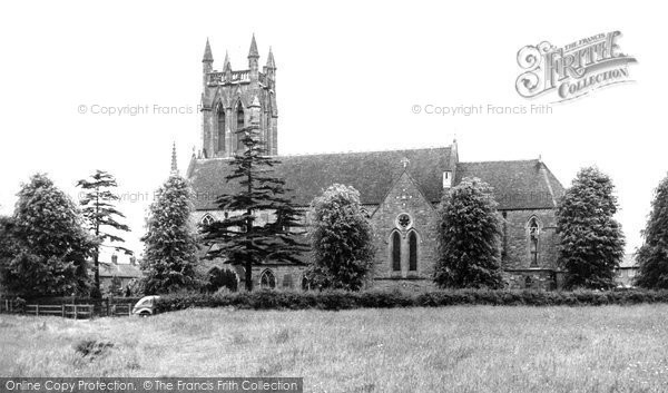 Bromsgrove, All Saints Church c.1955