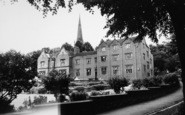 Bromsgrove, Council House And Church c.1955