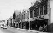 Bromsgrove, Ernest Apps, High Street c.1965