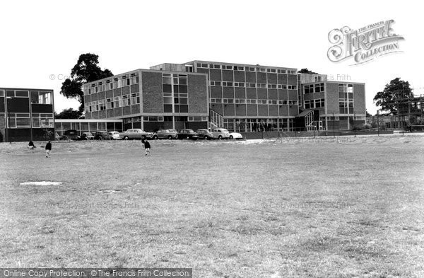 Photo of Bromsgrove, High School c1965