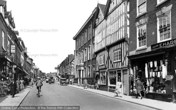 Bromsgrove, High Street 1931