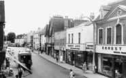 Bromsgrove, High Street c.1960