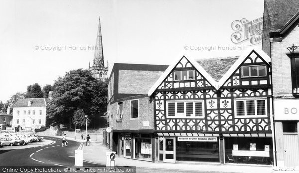Bromsgrove, High Street Into St John's Street  c.1965
