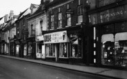 Bromsgrove, High Street, Shops 1949