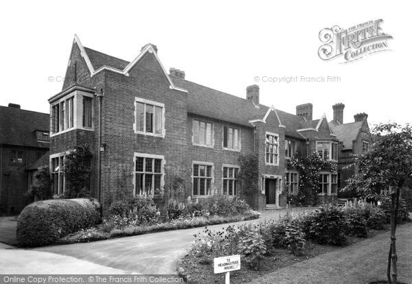 Bromsgrove, School, Headmasters House c.1955