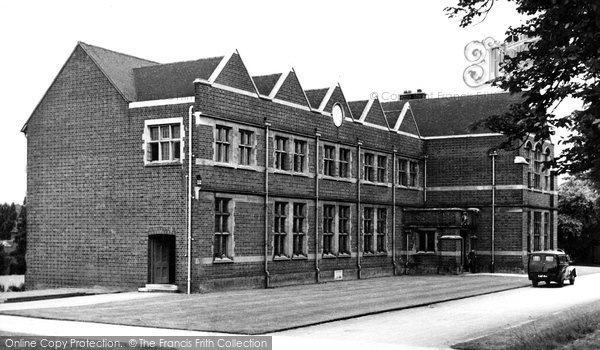 Bromsgrove, School, Kyteless House c.1955