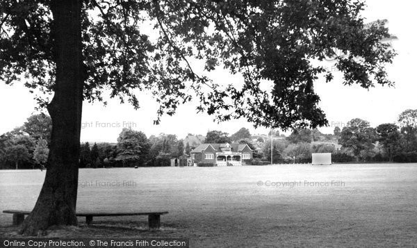Bromsgrove, School, The Playing Fields c.1955