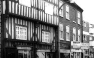 Bromsgrove, Shopping On High Street c.1965