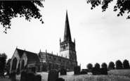 Bromsgrove, St John's Church c.1965