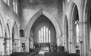 Bromsgrove, St John The Baptist Church, Interior 1931