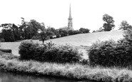 Bromsgrove, Tardebigge Church and Canal c1955