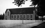 Bromsgrove, The Chapel, Bromsgrove School c.1955