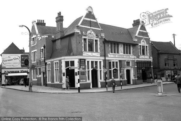 Bromsgrove, The George Hotel c.1965