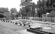Bromsgrove, The School Swimming Pool c.1955