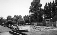 Bromsgrove, The Swimming Pool, Bromsgrove School c.1955
