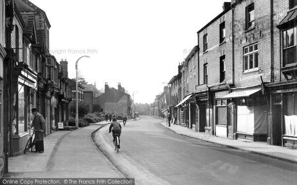 Bromsgrove, Worcester Street 1949