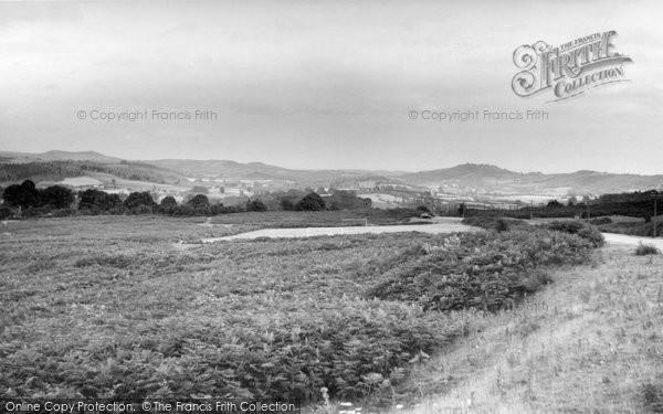 Bromyard, Bringsty Common c.1955