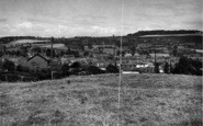 Bromyard, General View From Leominster Road c.1955