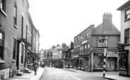 Bromyard, High Street c.1955