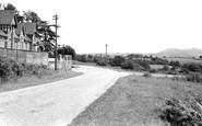 Bromyard, Kidderminster Road c.1960