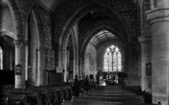 Bromyard, Parish Church, The Nave c.1950