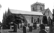 Bromyard, St Peter's Church 1906