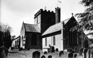 Bromyard, St Peter's Parish Church c.1950