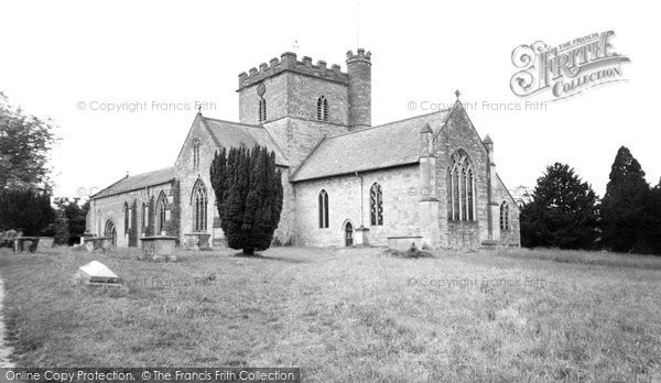 Bromyard, The Church Of St Peter 1957