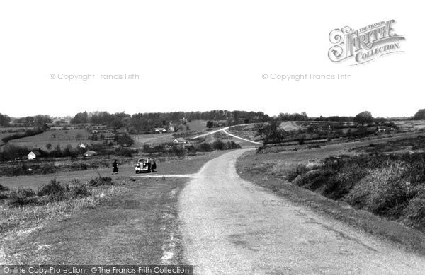 Bromyard, The Downs c.1950