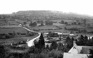 Bromyard, The Downs From Church Tower 1923
