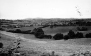 Bromyard, The Downs From Hereford Road 1954